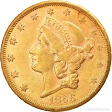 Monedas antiguas de América: [#894944] MONEDA, ESTADOS UNIDOS, LIBERTY HEAD, $20, DOUBLE EAGLE, 1866, SAN FRANCISCO. Lote 269179933