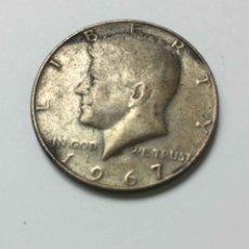 Monedas antiguas de América: MONEDA: MEDIO DÓLAR (ESTADOS UNIDOS, KENNEDY, 1964) PLATA. ORIGINAL ¡COLECCIONISTA!. Lote 269279603