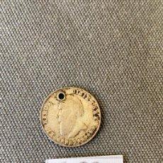 Monedas antiguas de América: EL HEROE DE DICIEMBRE , MONEDA DE PLATA , 1868 , SALVA LA PATRIA DE LA ANARQUIA. Lote 270532003