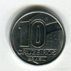 Monedas antiguas de América: BRASIL 10 (DIEZ) CRUZEIRO AÑO 1991. Lote 271673528