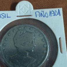 Monedas antiguas de América: 400 REÍS BRASIL 1901. Lote 273252023
