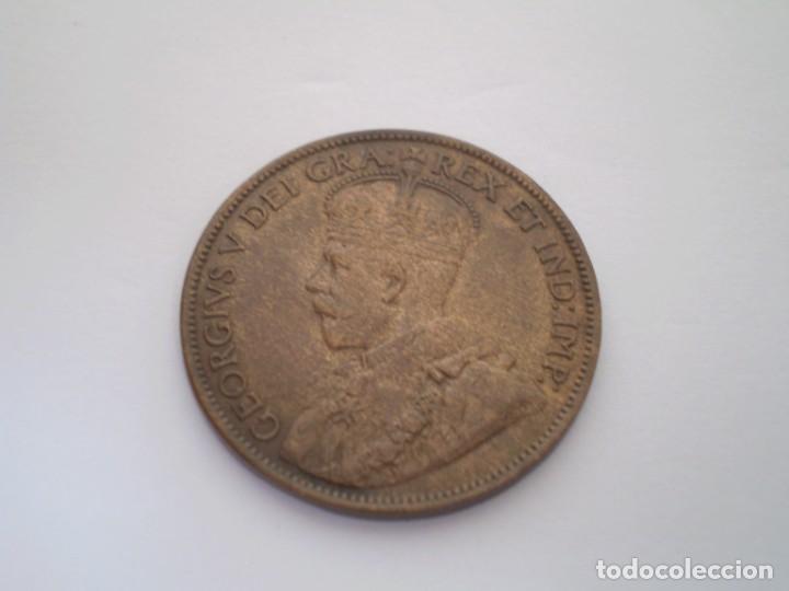 Monedas antiguas de América: 40SCF15 Canadá 1 céntavo 1913 - Foto 2 - 273991483