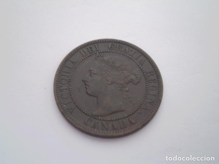 41SCF15 CANADÁ VICTORIA 1 CENTAVO 1899 (Numismática - Extranjeras - América)