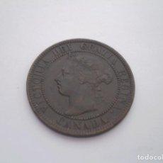 Monedas antiguas de América: 41SCF15 CANADÁ VICTORIA 1 CENTAVO 1899. Lote 273992443
