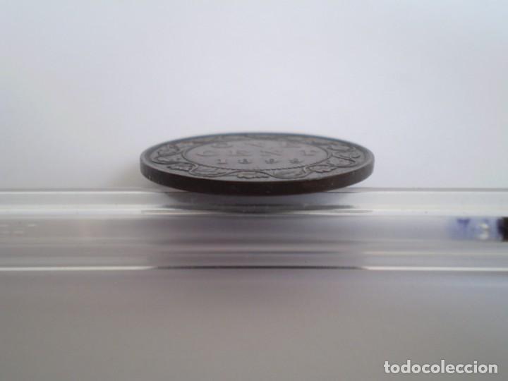 Monedas antiguas de América: 41SCF15 Canadá Victoria 1 centavo 1899 - Foto 5 - 273992443