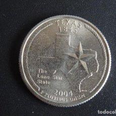 Moedas antigas da América: USA ESTADOS UNIDOS DE AMÉRICA 25 CENTAVOS TEXAS 2004 P. Lote 274335688