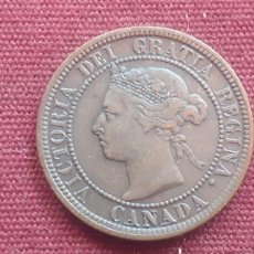 Monete antiche di America: CANADA : CENT 1887 EXCELENTE ESTADO. Lote 274434588