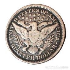Moedas antigas da América: USA. PLATA. CUARTO DE DOLAR 1893 . EEUU. Lote 275141263