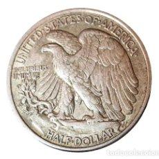 Moedas antigas da América: USA. PLATA. MEDIO DOLAR 1943 . EEUU. Lote 275141448