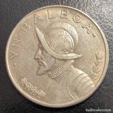 Monedas antiguas de América: PANAMÁ, MONEDA DE PLATA DE 1 BALBOA, DEL AÑO 1934. Lote 275497668