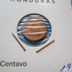Monedas antiguas de América: MONEDA DE HONDURAS DE 1 CENTAVO DE 1957 SC-. Lote 276098713