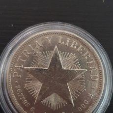 Monedas antiguas de América: PESO CUBANO. 1934. PLATA. PESA 26,7295 GRAMOS.. Lote 276259938
