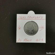 Moedas antigas da América: ISLAS FALKLAND 10 PENCE 2004 S/C KM=133 (CUPRONIQUEL). Lote 276550683