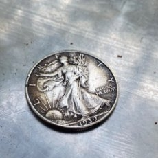 Monete antiche di America: MONEDA 1/2 HALF DÓLAR PLATA 1939 USA LIBERTY. Lote 276736493