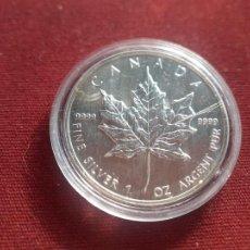 Monete antiche di America: CANADA. ONZA DE PLATA PURA 1994 ENCAPSULADA SC. Lote 276736978