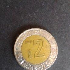 Monedas antiguas de América: MÉXICO. 2 PESOS DE 2005.. Lote 277111688