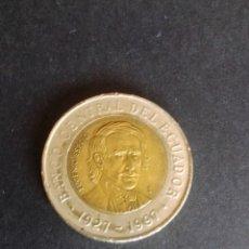 Monedas antiguas de América: ECUADOR. 1000 SUCRES DE 1997.. Lote 277111753