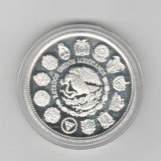 Monnaies anciennes d'Amérique: MEXICO- ENCUENTRO DE 2 MUNDOS- 100 PESOS- 1991-PROF-ENCAPSULADA. Lote 277736678