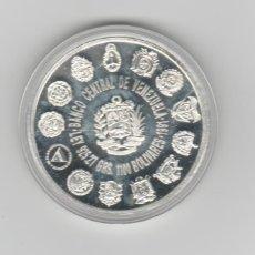 Monedas antiguas de América: VENEZUELA- ENCUENTRO DE 2 MUNDOS- 1100 BOLIVARES- 1991-PROF-ENCAPSULADA. Lote 277737253