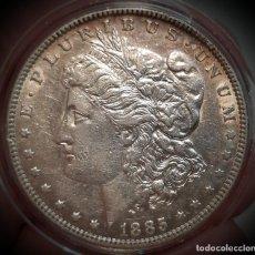 Monedas antiguas de América: 1885 MORGAN DOLLAR .EXCELENTE ESTADO DE CONSERVACION +.. Lote 277737478