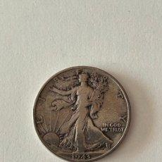 Monedas antiguas de América: MONEDA HALF DOLAR DE PLATA 1943 MBC. Lote 278287318
