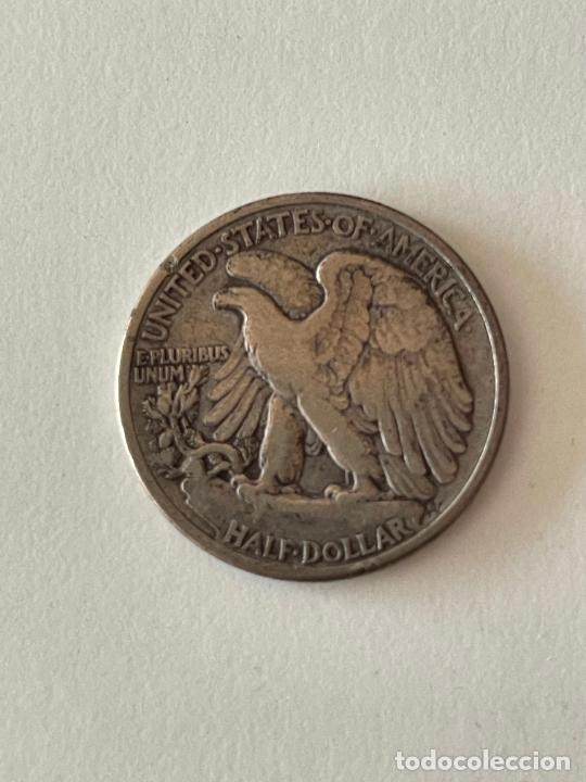 Monedas antiguas de América: MONEDA HALF DOLAR DE PLATA 1942 MBC - Foto 2 - 278287653