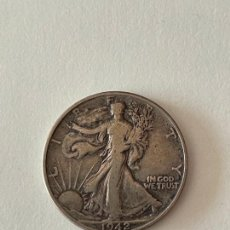 Monedas antiguas de América: MONEDA HALF DOLAR DE PLATA 1942 MBC. Lote 278287653