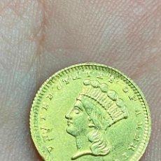 Monedas antiguas de América: MONEDA DE ORO 1 DOLLAR 1868 - ORIGINAL EN MUY BUEN ESTADO - UN DOLAR. Lote 278296368