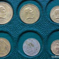 Monedas antiguas de América: LOTE DE 6 MONEDAS DE LA REPUBLICA ORIENTAL DE URUGUAY. Lote 281006368
