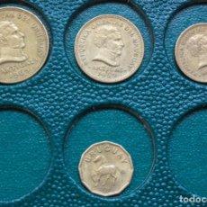 Monedas antiguas de América: LOTE DE 4 MONEDAS DE LA REPUBLICA ORIENTAL DE URUGUAY. Lote 281006473