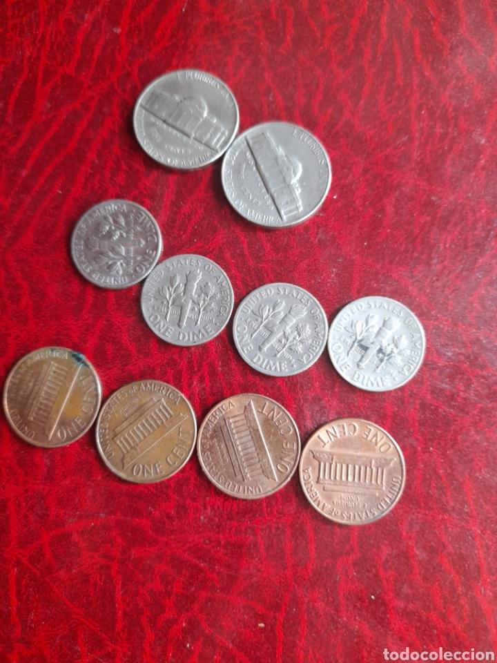 Monedas antiguas de América: Lote de monedas antiguas de Estadounidenses - Foto 2 - 282046463