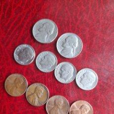 Monedas antiguas de América: LOTE DE MONEDAS ANTIGUAS DE ESTADOUNIDENSES. Lote 282046463