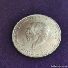 Monedas antiguas de América: MONEDA DE MEXICO MEJICO. 1956. HIDALGO. 5 PESOS PLATA. SIN CIRCULAR. 18GR.. Lote 287314193