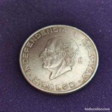 Monedas antiguas de América: MONEDA DE MEXICO MEJICO. 1955. HIDALGO. 5 PESOS PLATA. 18GR.. Lote 287314328