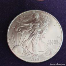 Monedas antiguas de América: MONEDA DE ESTADOS UNIDOS. USA. 1998. 1 DOLAR. ONZA PLATA PURA. 31,1GR. LIBERTY. ENCAPSULADA.. Lote 287315478