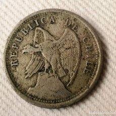 Monedas antiguas de América: REPUBLICA DE CHILE 20 CENTAVOS 1924. Lote 288547938
