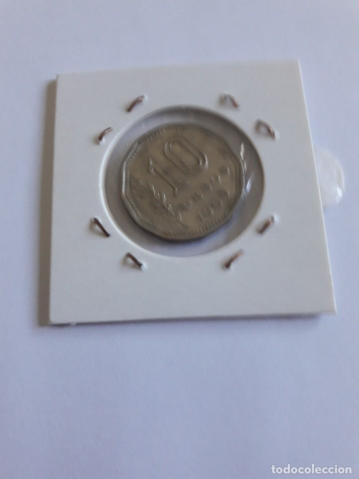 Monedas antiguas de América: ARGENTINA 10 PESOS 1966 KM#60 MUY BONITA - Foto 2 - 288548603
