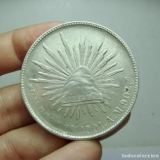 Monedas antiguas de América: 1 PESO. PLATA. REPÚBLICA MEXICANA - 1908. Lote 289234893