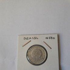 Monedas antiguas de América: BRASIL 1 CRUZEIRO 1961 KM#570 MUY BONITA. Lote 289367148