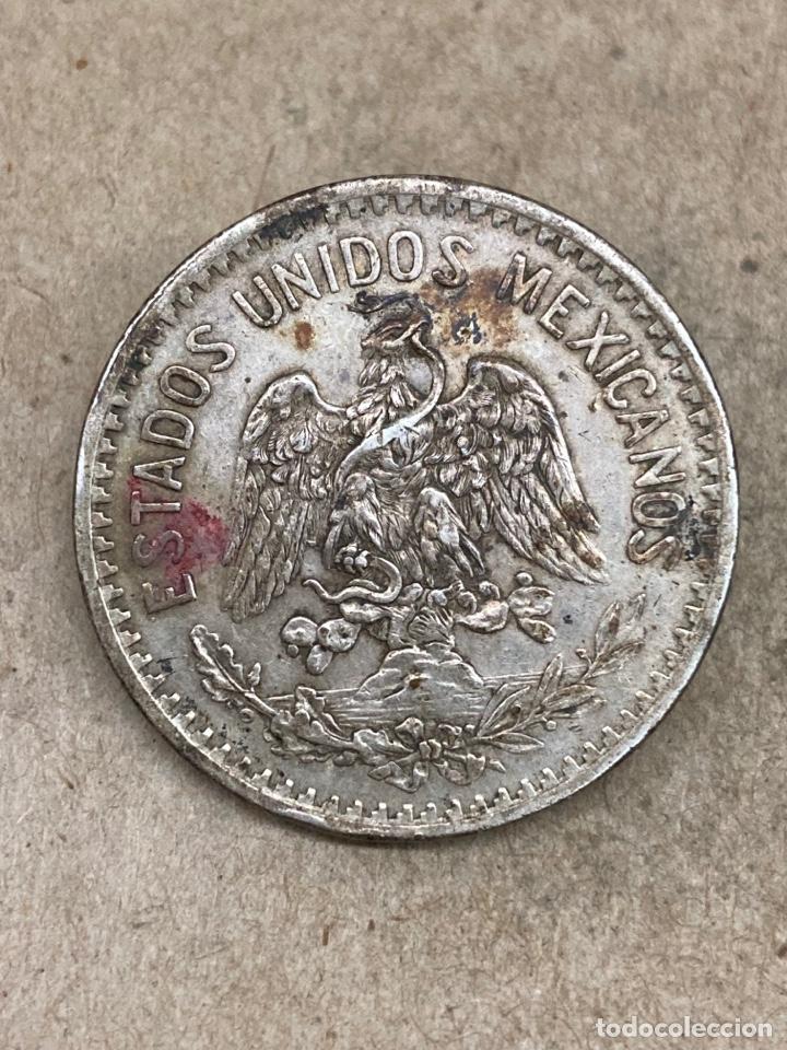 Monedas antiguas de América: Moneda de plata 50 centavos 1914 - Foto 2 - 289417248