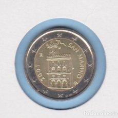 Monedas antiguas de América: MONEDAS - SAN MARINO 2 EURO 2007 (SC). Lote 289518123