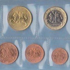 Monedas antiguas de América: EUROS - LITHUANIA - SERIE DE 8 MONEDAS 2015 (SC-). Lote 289518783