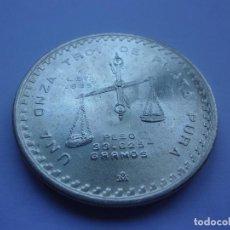 Monedas antiguas de América: 27SCC14 MEXICO 1 ONZA TROY DE PLATA 1979. Lote 289519883