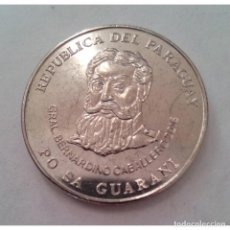 Monedas antiguas de América: PARAGUAY 2016 KM#195A 500 GUARANIES REGULAR UNC. Lote 289940058