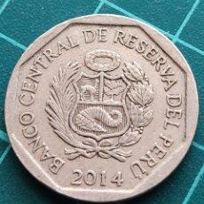 Monedas antiguas de América: PERÚ 50 CÉNTIMOS 2014. Lote 290249673
