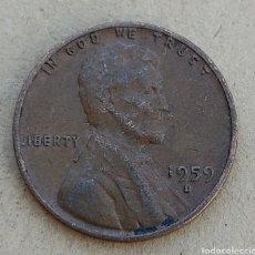 Monedas antiguas de América: ESTADOS UNIDOS 1 CENT 1959 D. Lote 290862658