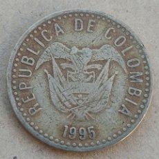 Monedas antiguas de América: COLOMBIA 100 PESOS 1995. Lote 290987903