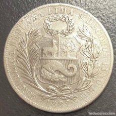 Monedas antiguas de América: PERÚ, MONEDA DE PLATA DE 1 SOL, AÑO 1882TF. Lote 293369648
