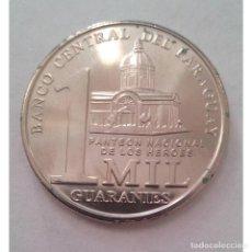 Monedas antiguas de América: MOP198 PARAGUAY 2008 1000 GUARANIES. Lote 293385958