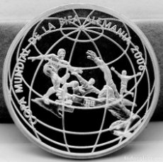 Monedas antiguas de América: PERÚ 1 NUEVO SOL 2004 - FÚTBOL. PLATA PROOF. ESCASA. Lote 293417168